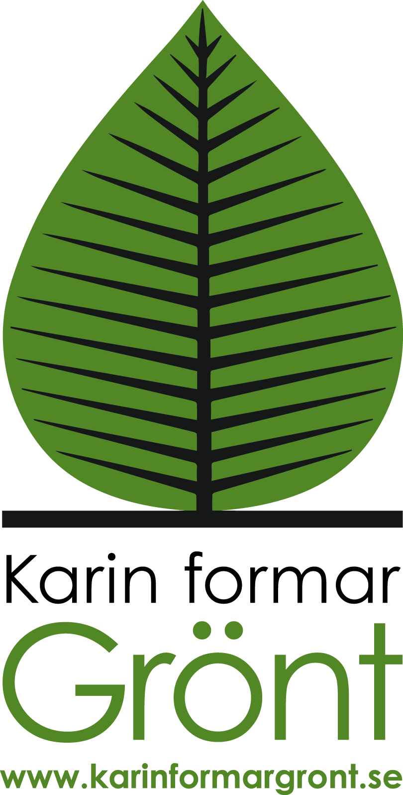 Karin formar Grönt logo